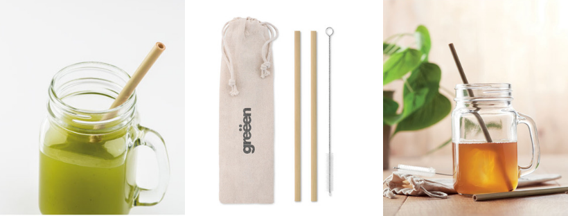 Set cannucce bamboo personalizzate