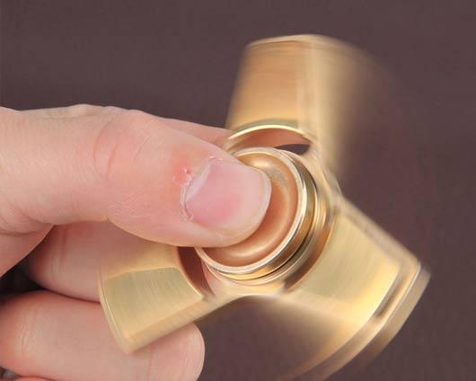 Figet Spinner personalizzato in metallo