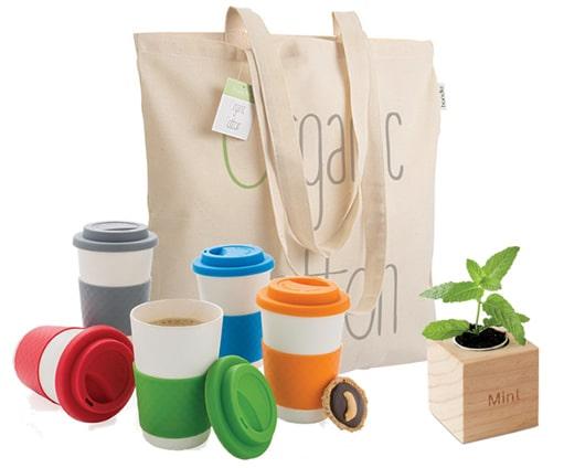 Gadget ecologici personalizzati per ufficio e tempo libero