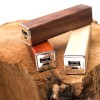 Power Bank Q-Pack Solid in legno