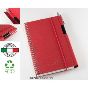 Notes Recycle-me Paper Pen cartoncino riciclato Made in Italy