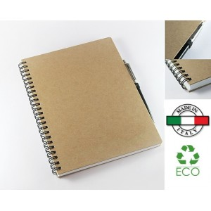 Notes Recycle-me Pen Off cartoncino riciclato Made in Italy