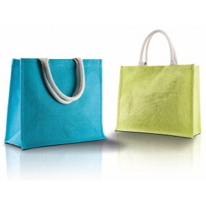 Borsa shopper in juta cm 42x36x15