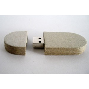 Chiave USB Eco Paper ovale