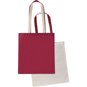 Shopper in cotone naturale e TNT cm 38x42