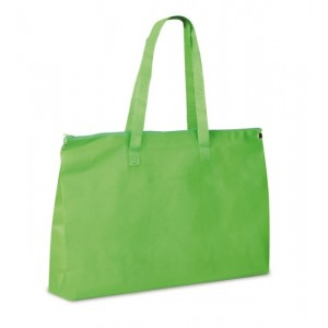 Shopper in TNT con zip cm 50x33x10