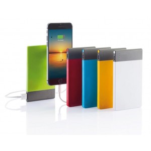 Power Bank ultrasottile in ABS 4600 mAh
