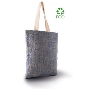 Shopper in juta filato naturale cm 42x37