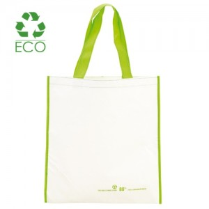 Borsa shopper in PET riciclato cm 38x40,7