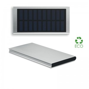 Power Bank Solar Powerflat 8000 mAh