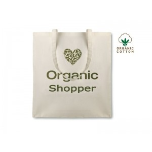 Shopper in cotone Organic Cottonel cm 38x42