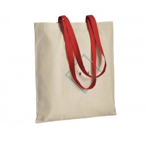 Shopper in cotone naturale 220 gr/m² cm 38x42