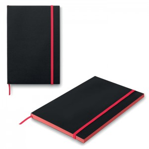 Notebook A5 Black Note con copertina in carta