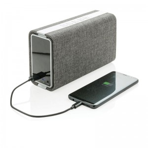 Power Bank-Speaker Vogue 4000 mAh in tessuto