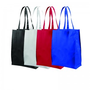 Shopper in TNT laminato medio cm 32x41x14