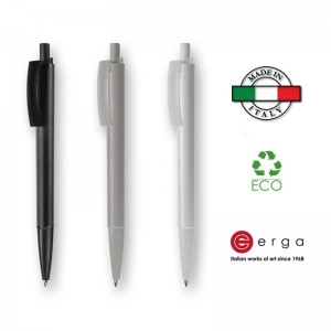 Penna a sfera e-Twenty Recycled Erga Made in Italy