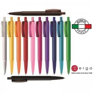 Penna a sfera e-Twenty Solid Erga Made in Italy