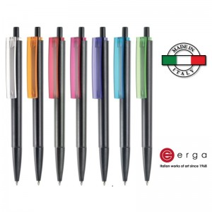 Penna a sfera e-Venti Black Erga Made in Italy