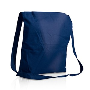 Shopper Campus con tracolla in cotone 140 g/m² cm 30x39,5