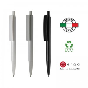 Penna a sfera e-Venti Recycled Erga Made in Italy