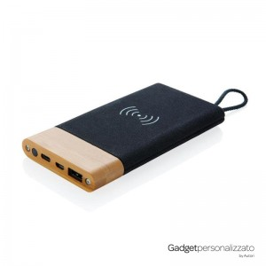 Powerbank wireless Bamboo X 5000 mAh