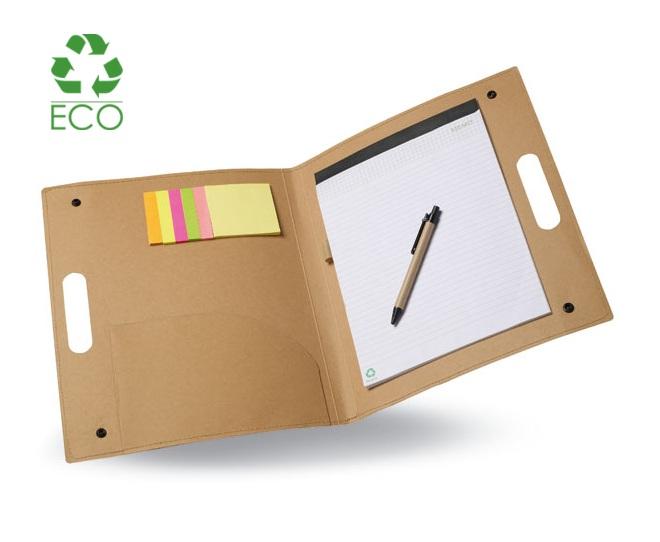 Portablocco in cartoncino riciclato
