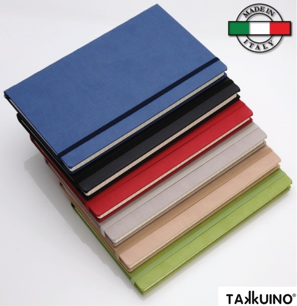 Notes Takkuino copertina PU Made in Italy