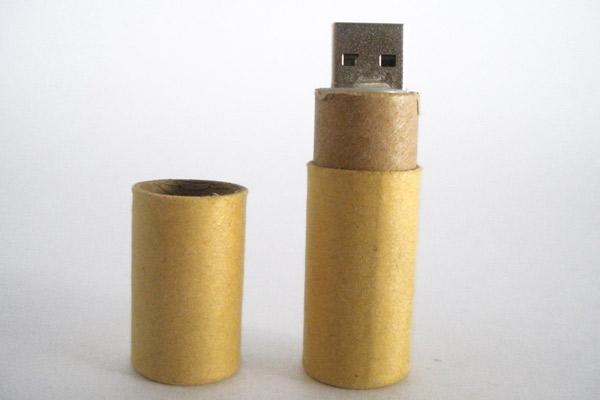 Chiave USB Eco Paper cilindrica