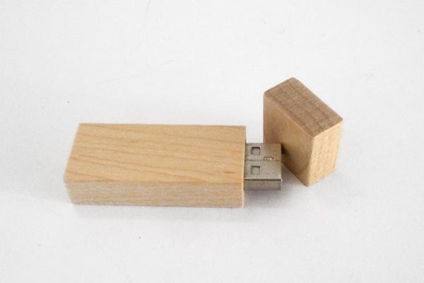 Chiave USB Legno rettangolare