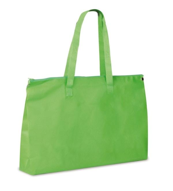Shopper in TNT con zip cm 50x33x10