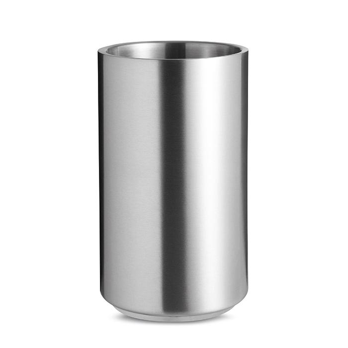 Cilindro porta bottiglie Coolio in acciaio inossidabile