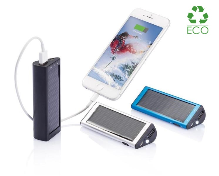 Power Bank solare 2200 mAh
