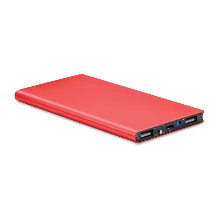 Power Bank sottile 8000 mAh Powerflat8