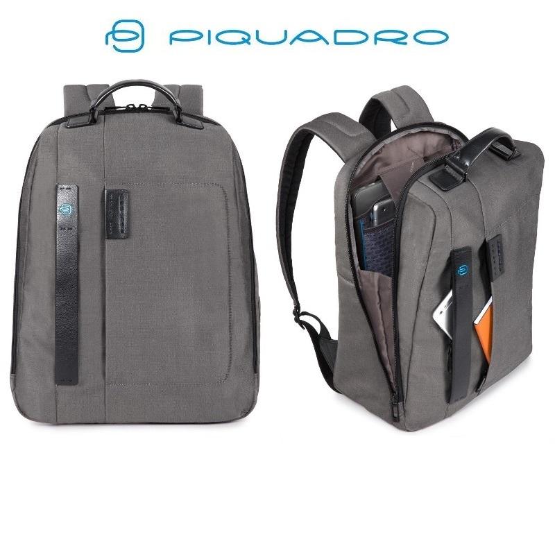 Zaino porta PC/iPad linea Pulse con dispositivo Connequ PIQUADRO