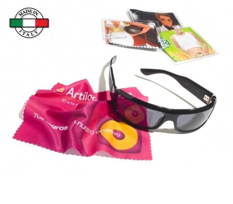 Panno pulisci occhiali in microfibra Made in Italy