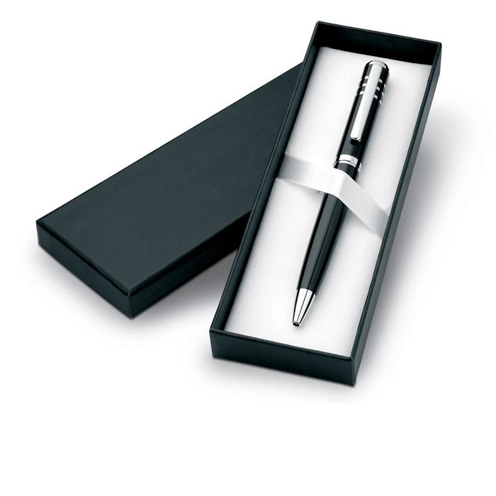 Penna a sfera Olympia in metallo in cofezione regalo