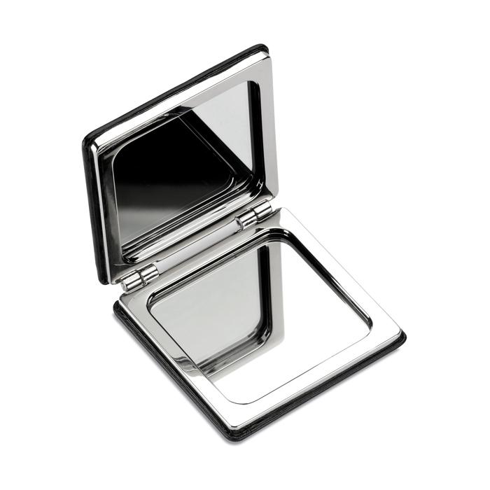Doppio specchietto quadrato da borsa - Glow