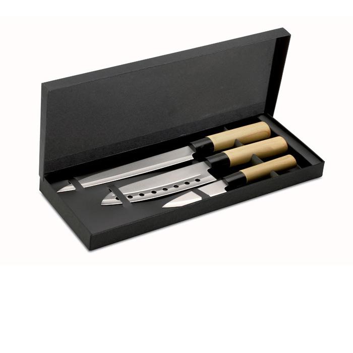 Set 3 coltelli stile giapponese - Taki