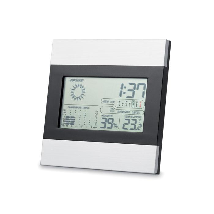 Stazione meteo con orologio calendario umidità e temperatura - Ripper
