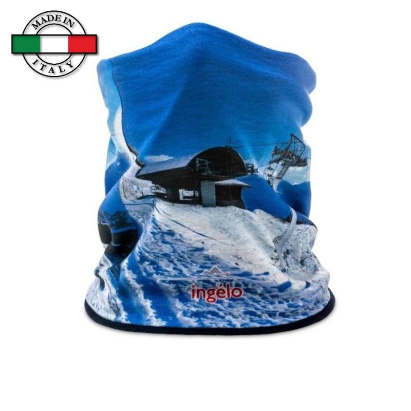 Scaldacollo tubolare invernale stampato full color Made in Italy