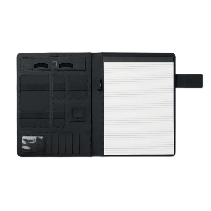 Porta blocco A4 Powerfoldy con power bank 4000mAh