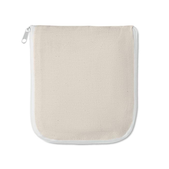 Shopper richiudibile in cotone 100 gr/m² cm 38x42x12