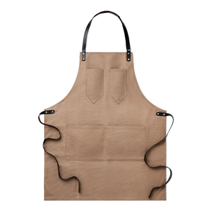 Grembiule regolabile in canvas cerato - Chef