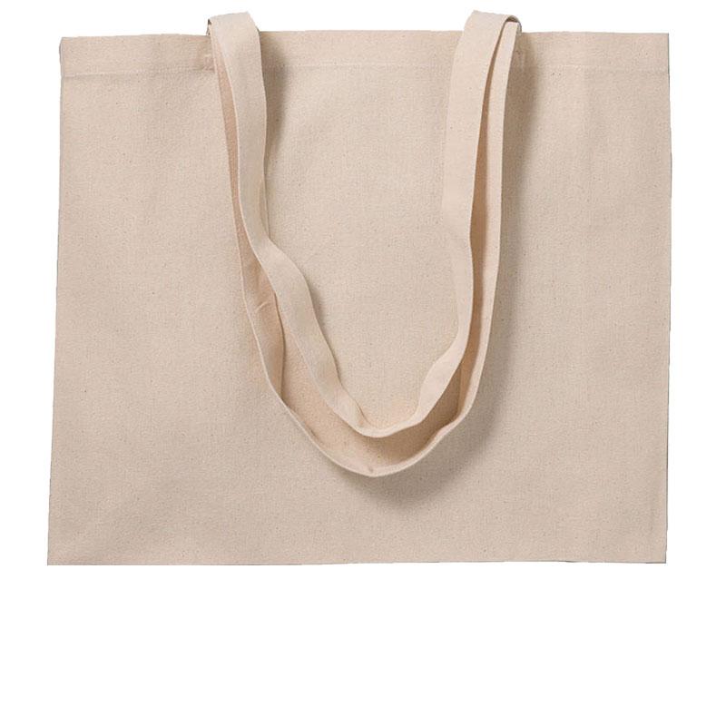 Shopper in cotone 280 g/m² con soffietto cm 50x35x16