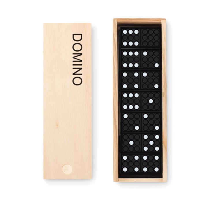 Domino in confezione di legno Domino