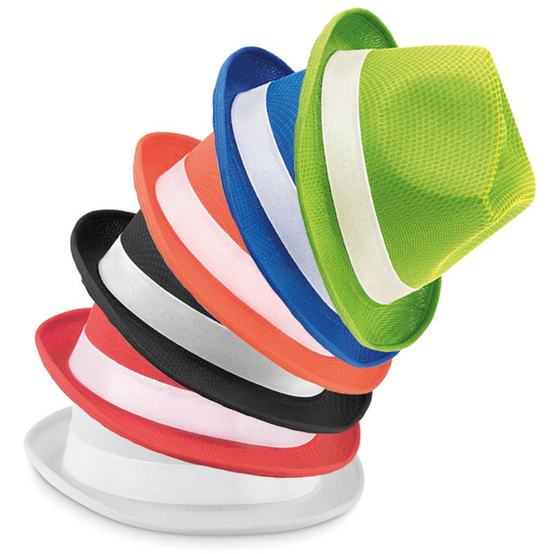 Cappello con banda bianca - Woogie
