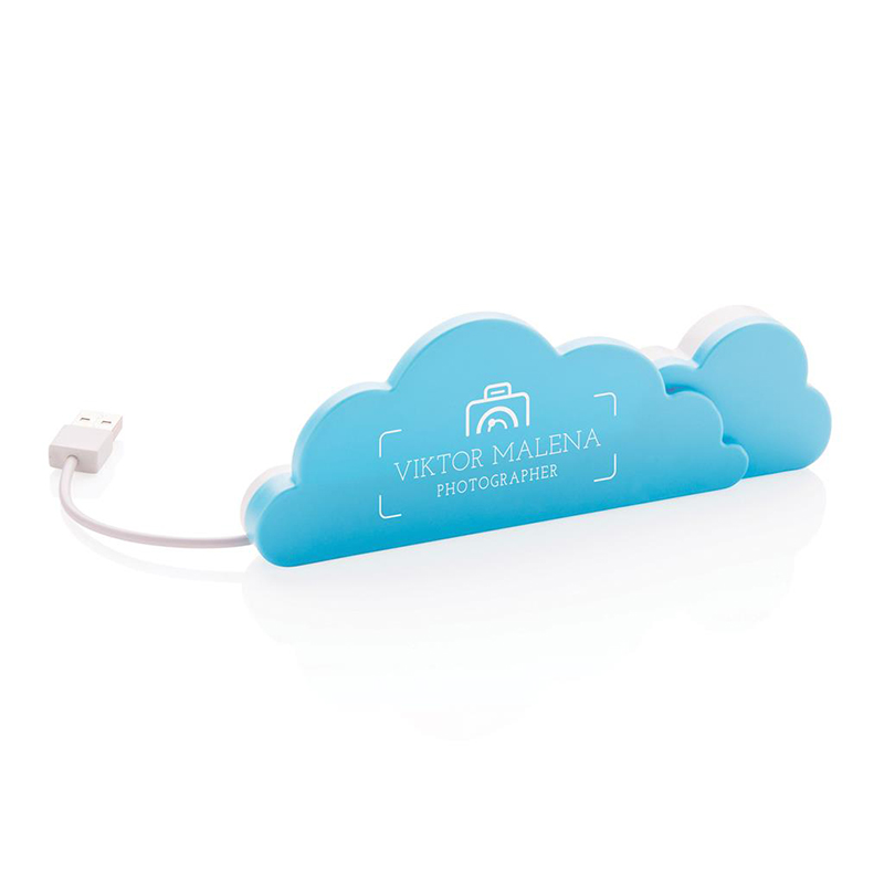 Multi hub con 4 porte USB 2.0 - Cloud