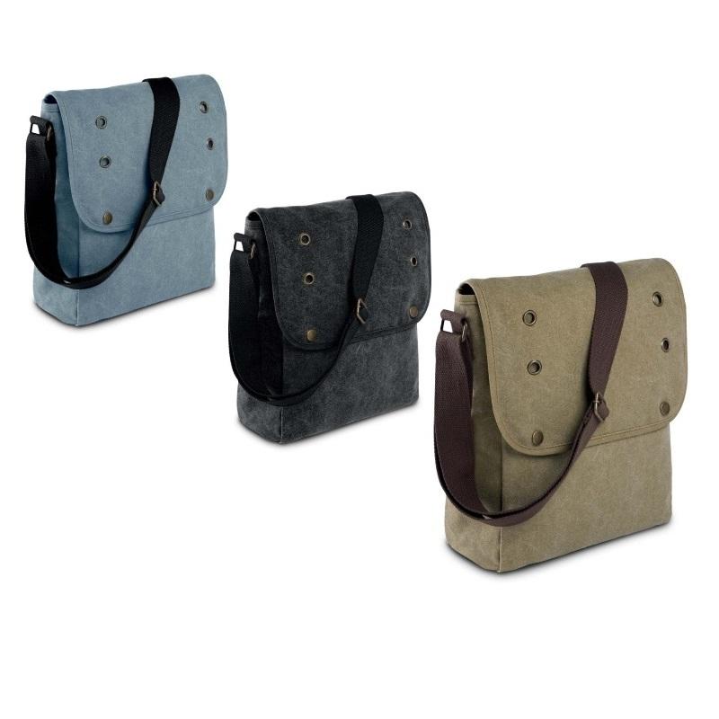Body Bag tracolla vintage in cotone