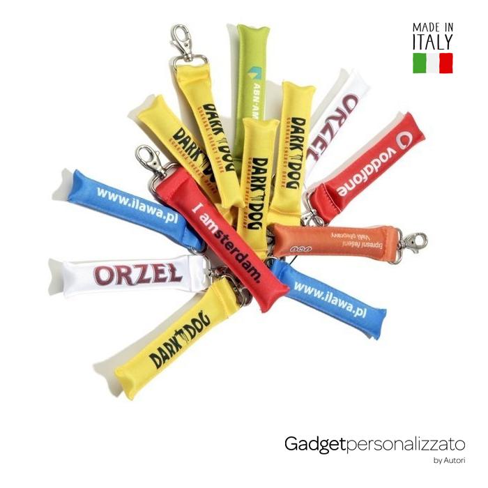 Portachiavi rigonfiato galleggiante Made in Italy