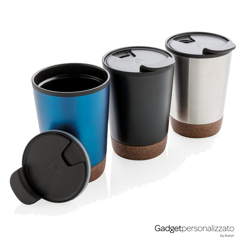 Tazza da caffè con inserti in sughero 300 ml